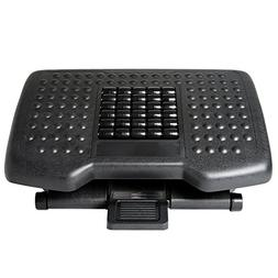 Ivation Adjustable Massage Footrest with Rollers - Great for