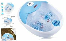 All in One Foot Spa Bath Massager with Heat, Digital Tempera