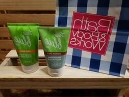 Bath & Body Works True Blue Spa Foot Scrub and Cream Set