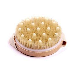 Bath Brushes, Sponges & Scrubbers - 95MM Round Palm Bath Bru
