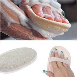 Bath Brushes, Sponges & Scrubbers - Soft Exfoliating Loofah