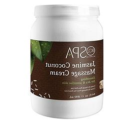 Bio Creative Lab BCL Spa Jasmine Coconut Massage Cream, 64 O