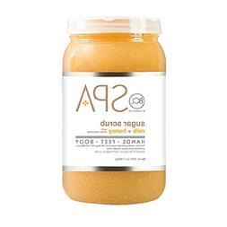 Bio Creative Lab BCL Spa Sugar Scrub Milk + Honey with White