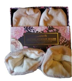 Beauty Muse Pro - Spa Warming Booties Hot & Cold Therapy Lav