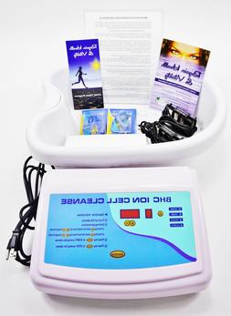 BHC Ionic Cell Cleanse Professional Detox Ion Foot Spa. Lab