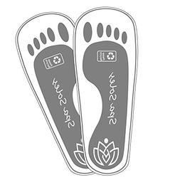 25 Pair Premium Foam Disposable Sticky Spray Tan Feet Protec