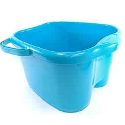 Ohisu Blue Foot Basin for Foot Bath, Soak, or Detox