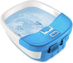 HoMedics Bubble Bliss Deluxe Foot Spa with Heat Massaging Ar