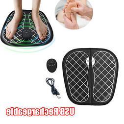 Electric Foot Massager Mat USB Charging Quiet Operation Foot