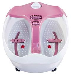 Safeplus Electrical Foot Basin Portable Foot Spa Massager wi