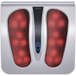 Miko Foot Massager Machine with Heat, Shiatsu Electric Foot