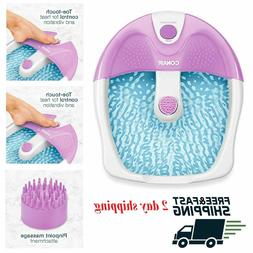 Foot Spa Bath Massager Heat Soaker Pedicure with Vibration B
