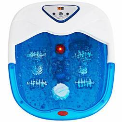 Foot Spa Bath Massager LCD Display Temperature Control Heat