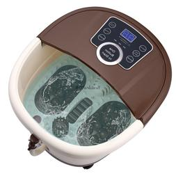 ACEVIVI Foot Spa Bath Motorized Massager Heat Massage Relax