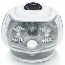 Foot Spa/Bath Soaker with Heat Bubbles Vibration XKAM-SPA16