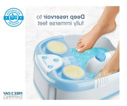 Foot Spa Misiki Foot Bath Massager with Heat Bubbles Vibrati