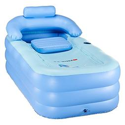 Blowup Inflatable Adult Family Spa Folding Foldable Portable