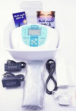 Ionic Cleanse Foot Detox Spa System, Upgraded, Safer to Use