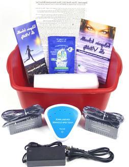 DETOX FOOT SPA BATH - New Model  Ionic Cleanse Detox Foot Ba