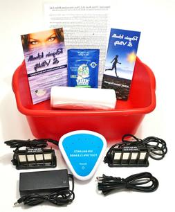DETOX FOOT SPA - Ionic Cleanse Detox Foot Bath with Free Ext