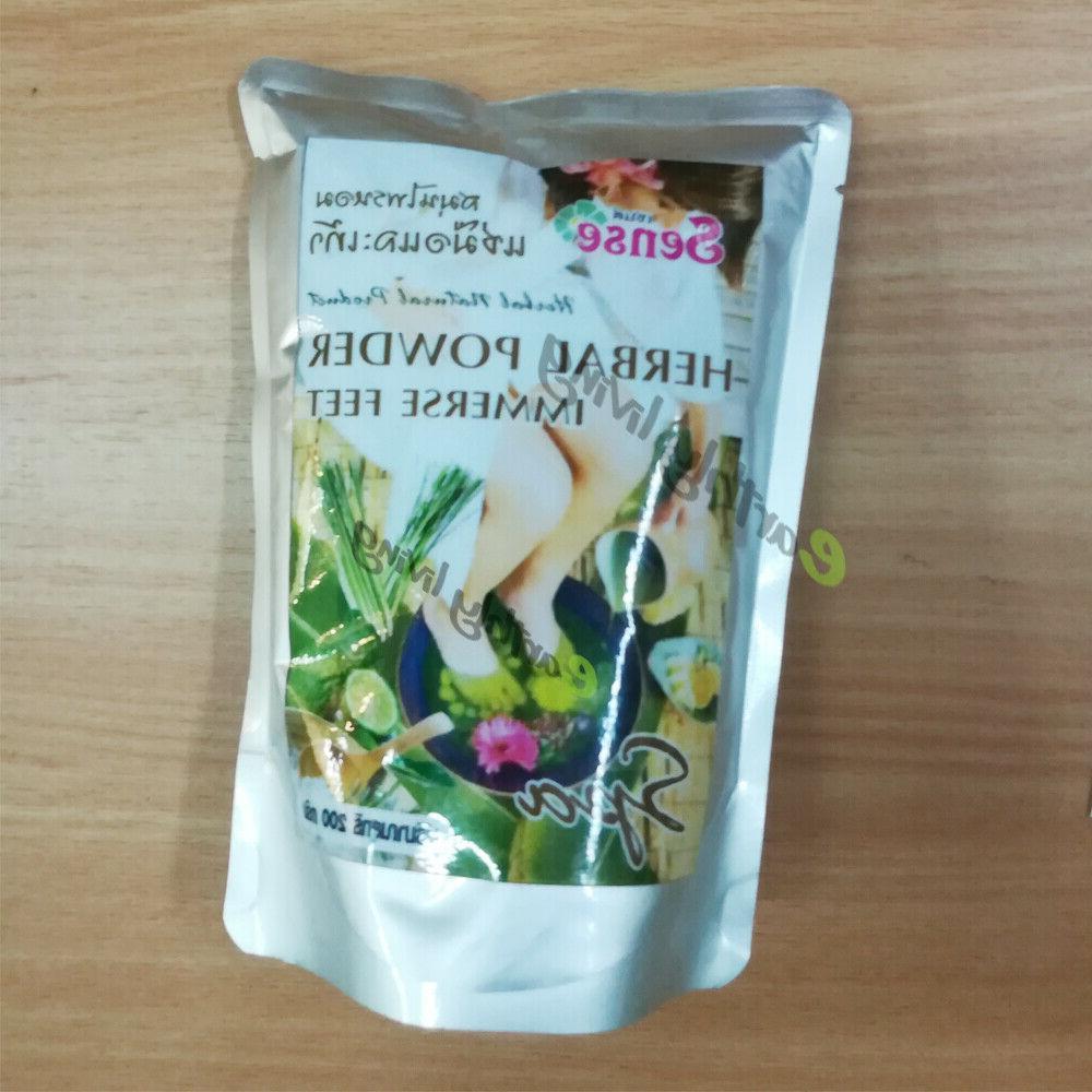 200g 6 oz herbal foot soak care