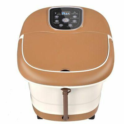 All-In-One Massager Tem/Time Heat Bubble Vibration