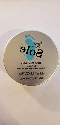 BeautiControl Spa Save Your Sole Rich Sea Salve for Feet