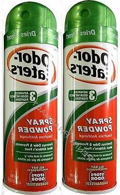 Odor-Eaters Foot Spray Powder, 4 Ounce