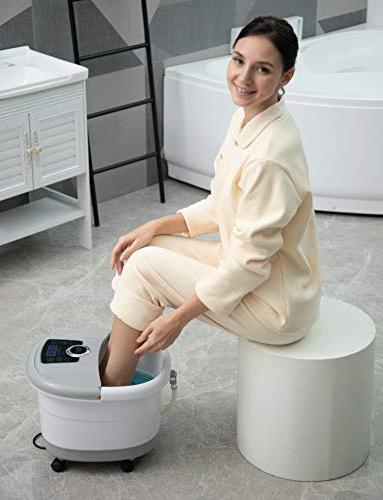 Foot Massager with Massage Foot Pedicure Spa Soak Tub,Digital Adjustable Temperature Control
