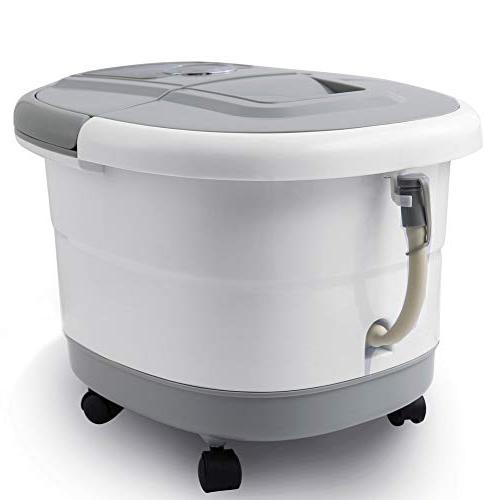 Foot with Heat and Automatic Massage Foot Machine Athletes Soak Tub,Digital Temperature Control