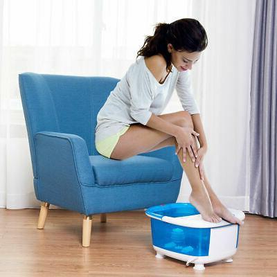 Foot Massager LCD Temperature Control Heat Bubbles