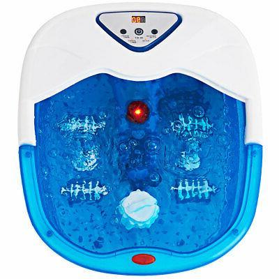 foot spa bath massager lcd display temperature