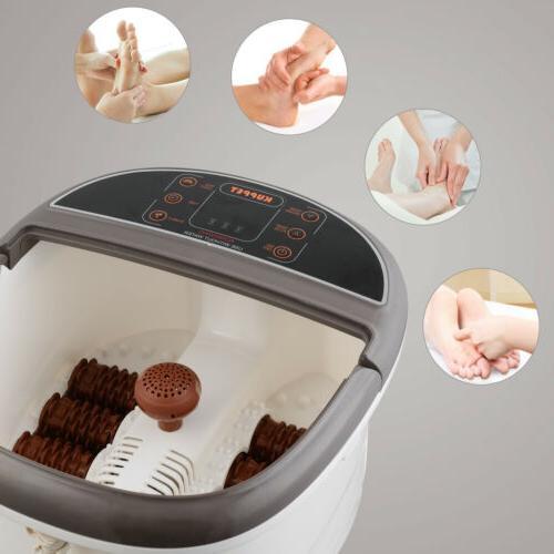 Foot Bath Tem/Time Set Vibration Types
