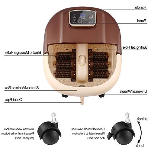 ACEVIVI Spa Motorized Heat and and Adjustable Time Temperature, Relaxing