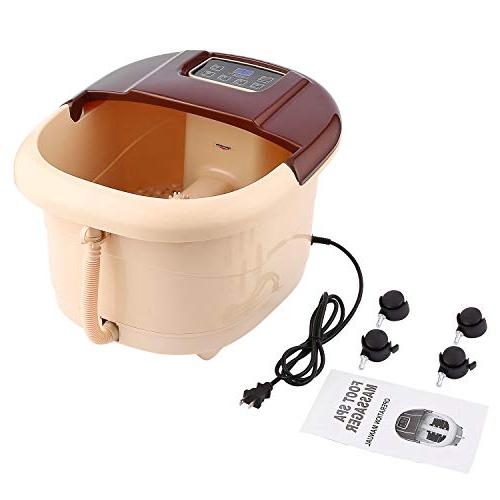 ACEVIVI Foot Spa Motorized Massager and Massage Adjustable Time Relaxing Noise