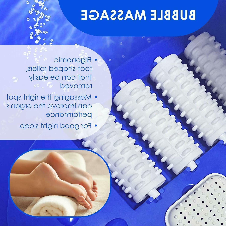 Foot Spa Massager Bubbles Digital Control