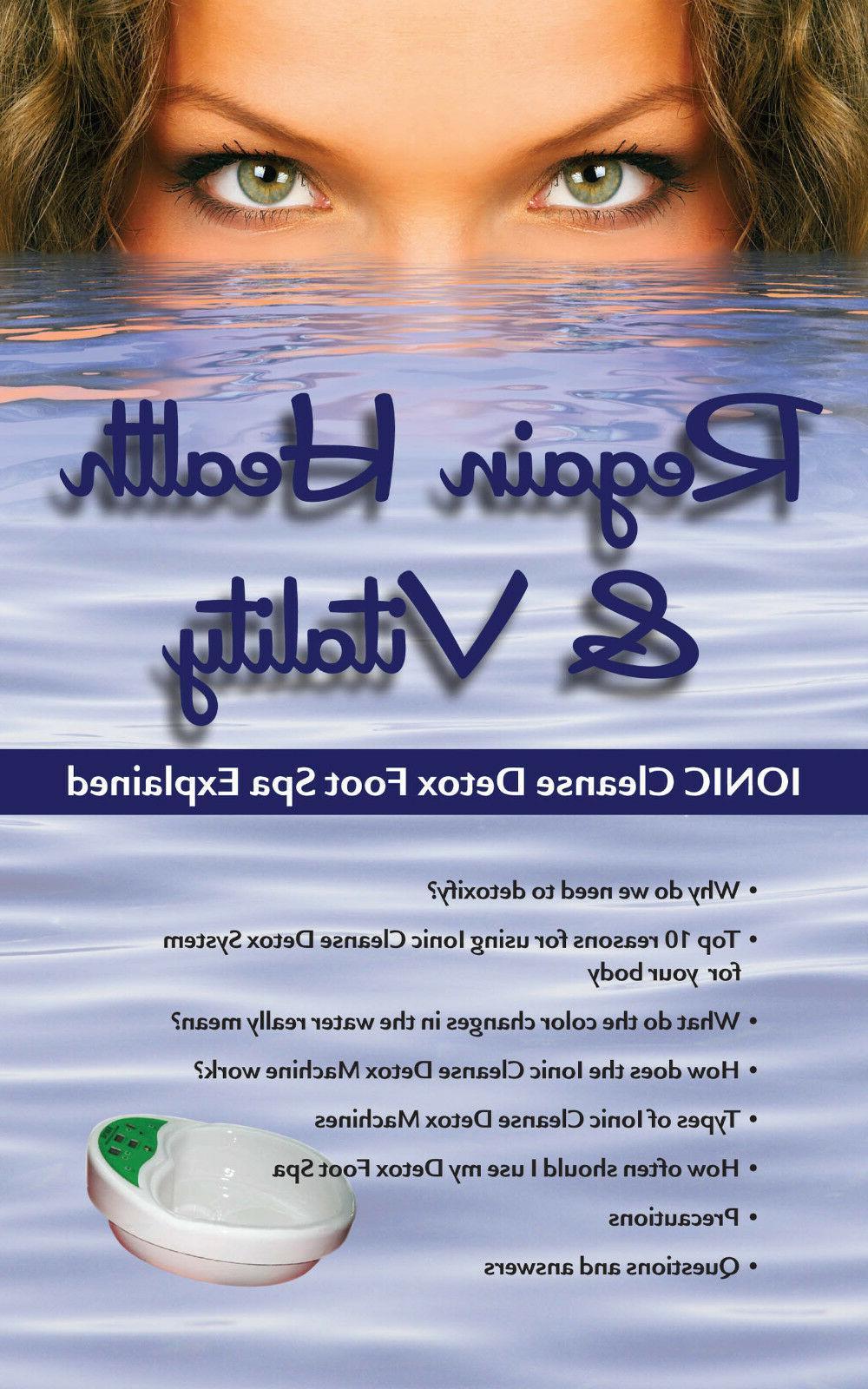 Ionic Spa Bath Cleanse, Portable Unit.