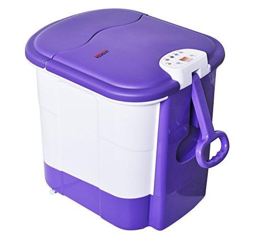 All digital deep foot bath roller heat water