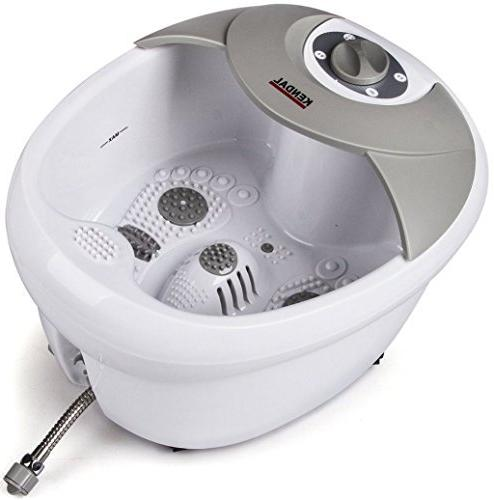 All in one Large Safest foot spa bath massager w/heat, HF vi