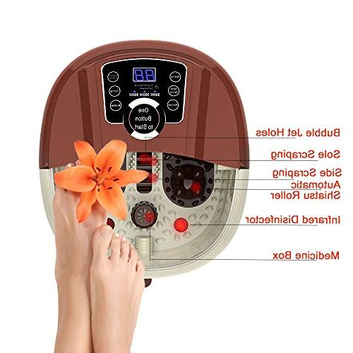 All in Spa Rolling & 4 Pro-set Rolling Massage, Temperature Setting