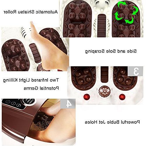 All Spa Massage Rolling 4 Pro-set Rolling Massage,