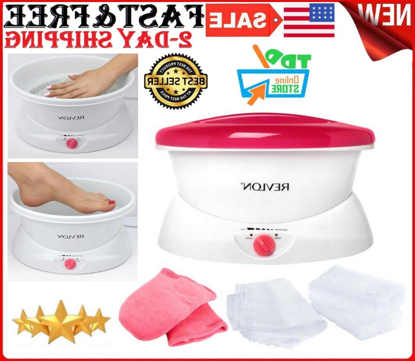 Paraffin WaxBath Warmer Spa Machine Hands Foots Heat Thera