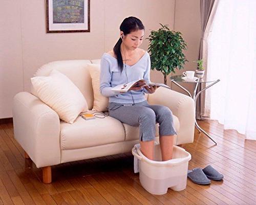 Inomata Massage Spa Bucket, White