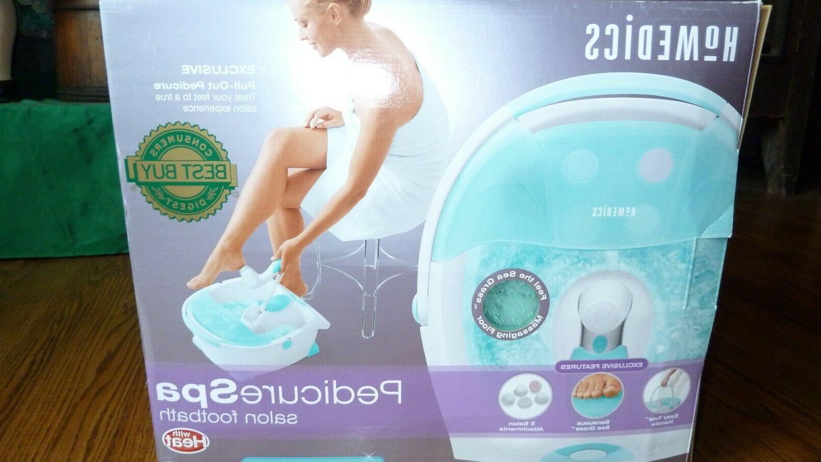 pedicure foot spa salon footbath with heat