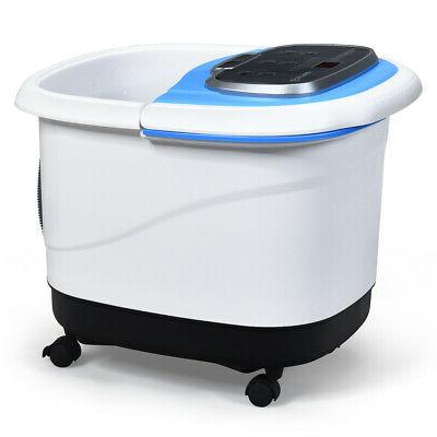 Portable Foot Spa Bath Motorized Massager Electric Feet Home