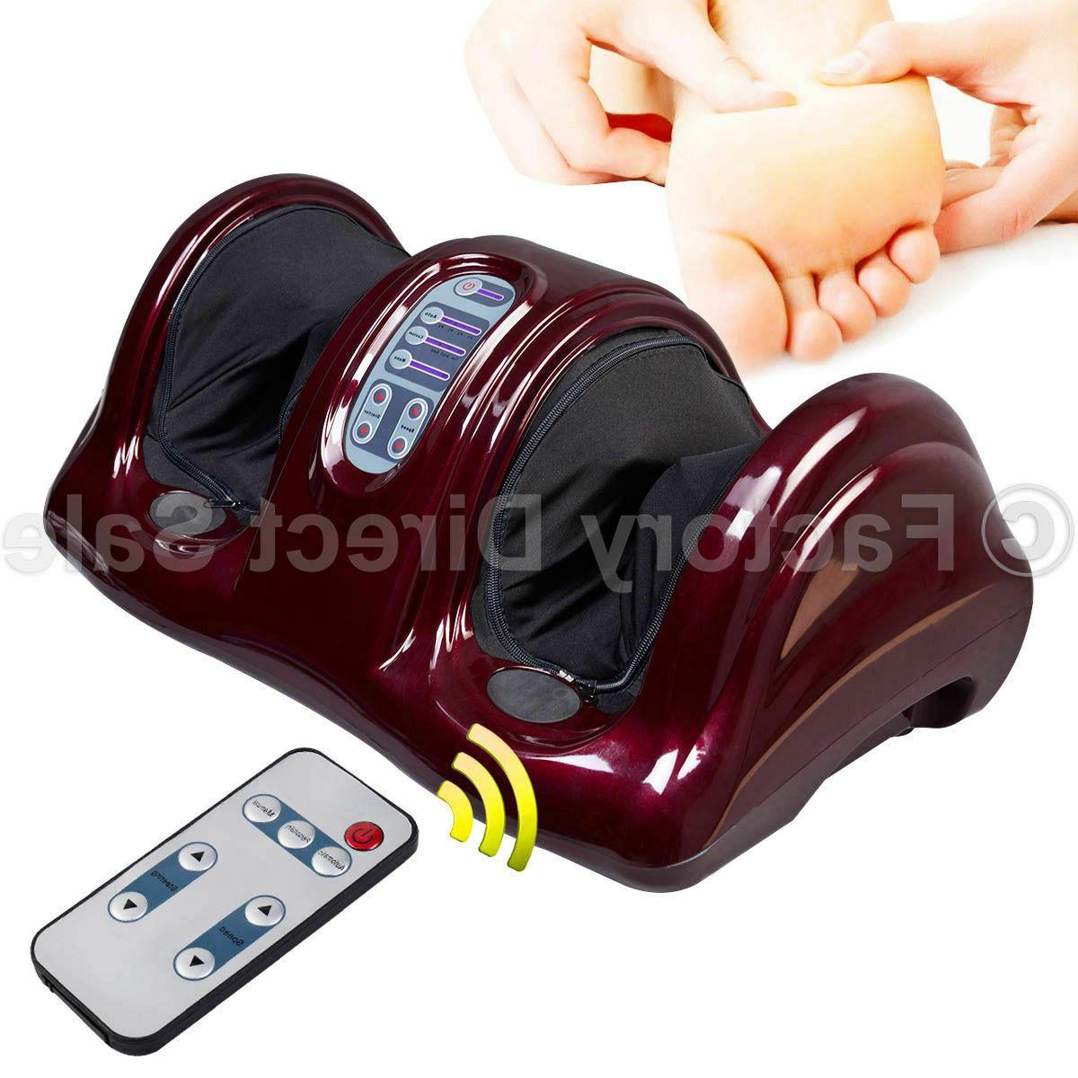 Electric Shiatsu Massager Kneading Machine Remote