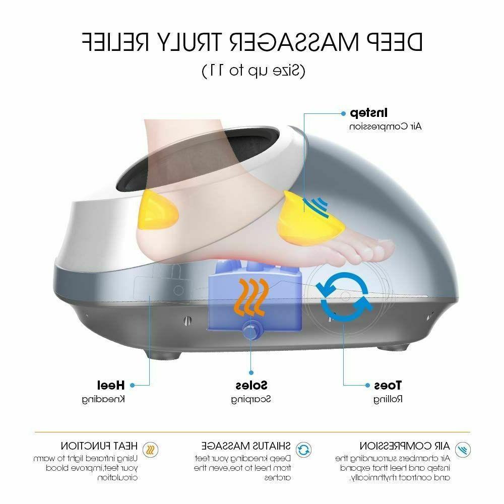 Shiatsu Heat, Electric Massger With