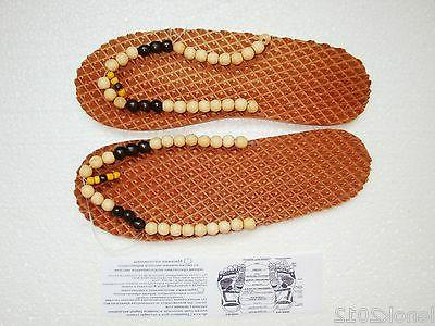 Size Natural Slippers Shoes Massage care