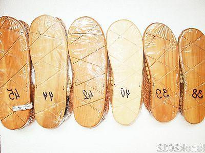 Size WOOD Slippers Massage SPA