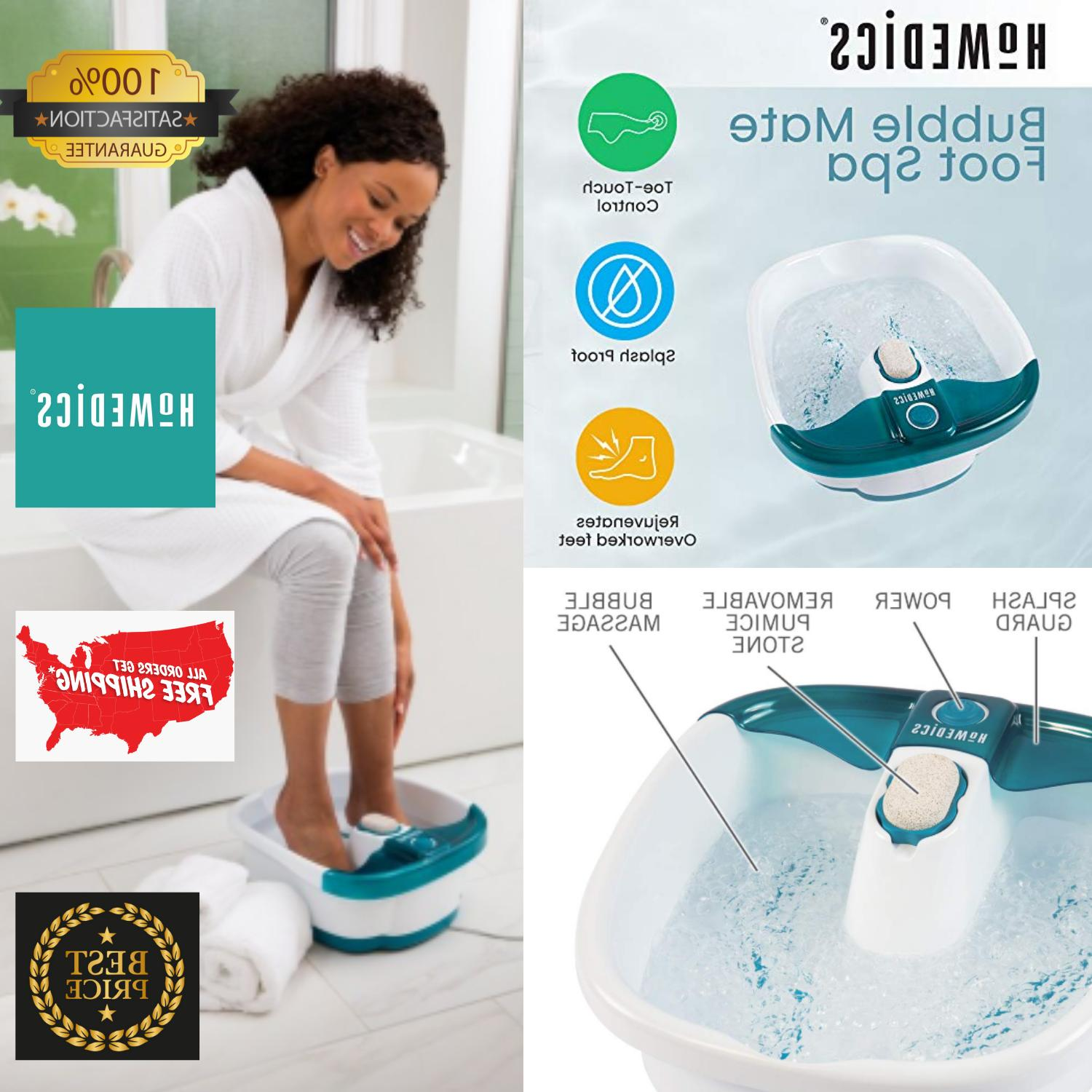 X Large Feet,Foot Spa Bath Massager Heat Soaker Massage Bubb